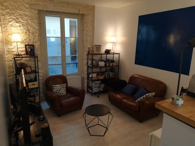 Lovely one bedroom & terrace appartment in Marais
