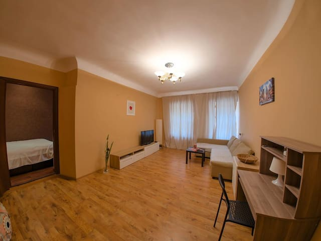 Апартаменты центр на Ульянова/55м2/ТВ/WIFI - Nizhnij Novgorod - Appartement