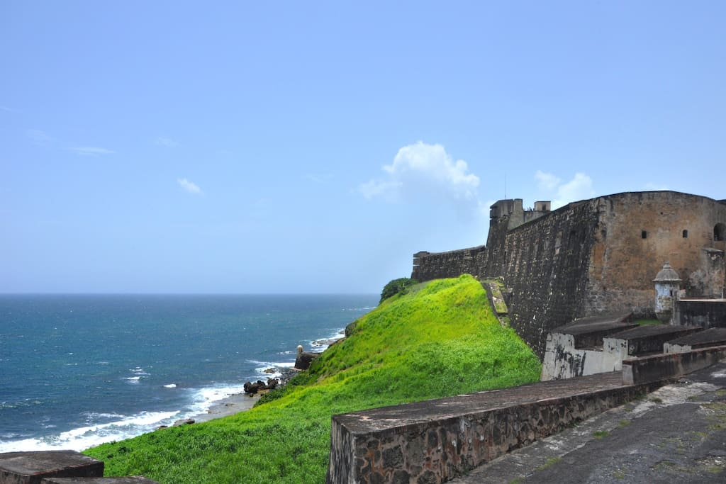 View from the apartment , St. Cristobal Fort