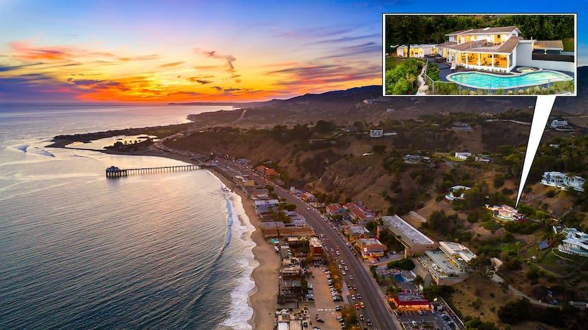 Malibu Oceana Bleu- Incredible Views -Sleeps 10!