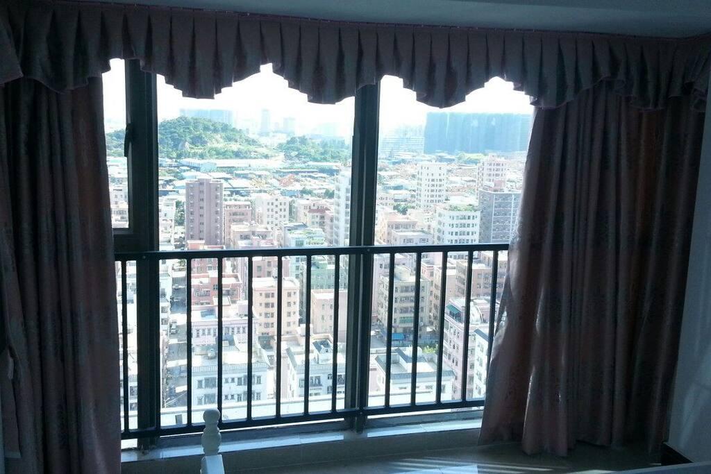 20th floor big window