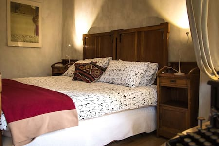 elegante camera con bagno dedicato - Fiano