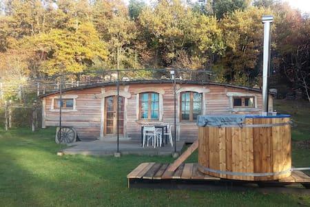 roulotte de fusta cara al Pirineu - Sainte-Croix-Volvestre - Other