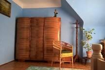 Cozy mansard room
