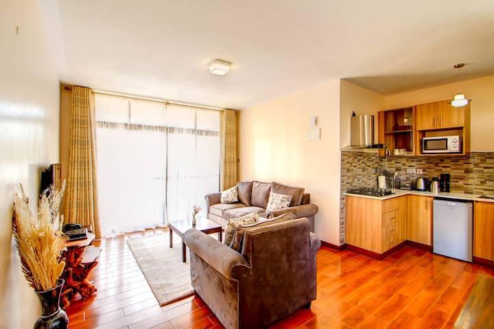 Highlands Suites Kilimani 1-BR Hotel Apartment
