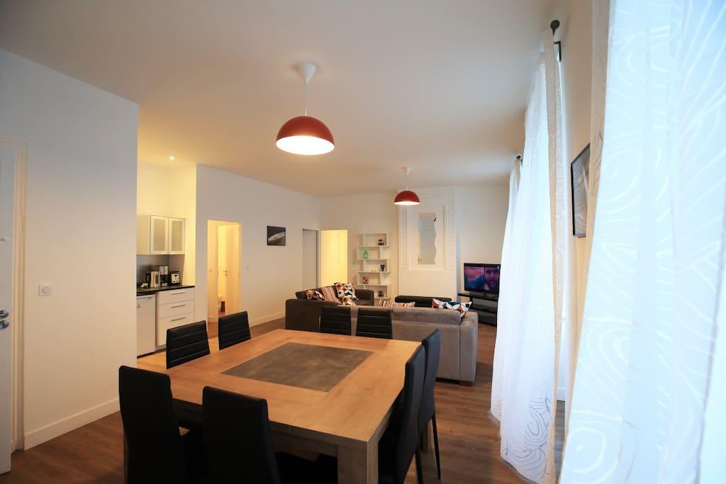 Appart camille jullian t5 160m appartements louer for Les chambres de camille bordeaux