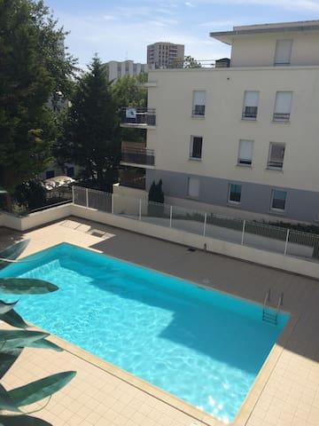 T2 BORD DE MER / AVEC PISCINE - Saint-Nazaire - Apartemen