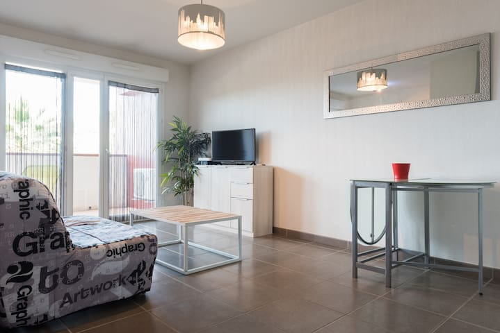 Appartement T2 à 5 min des plages - La Garde - Apartament