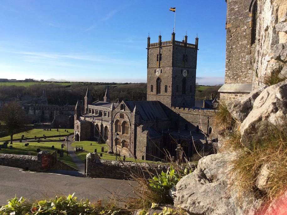 Nearby St David's Cathedral is a 'must see ' for your visit.