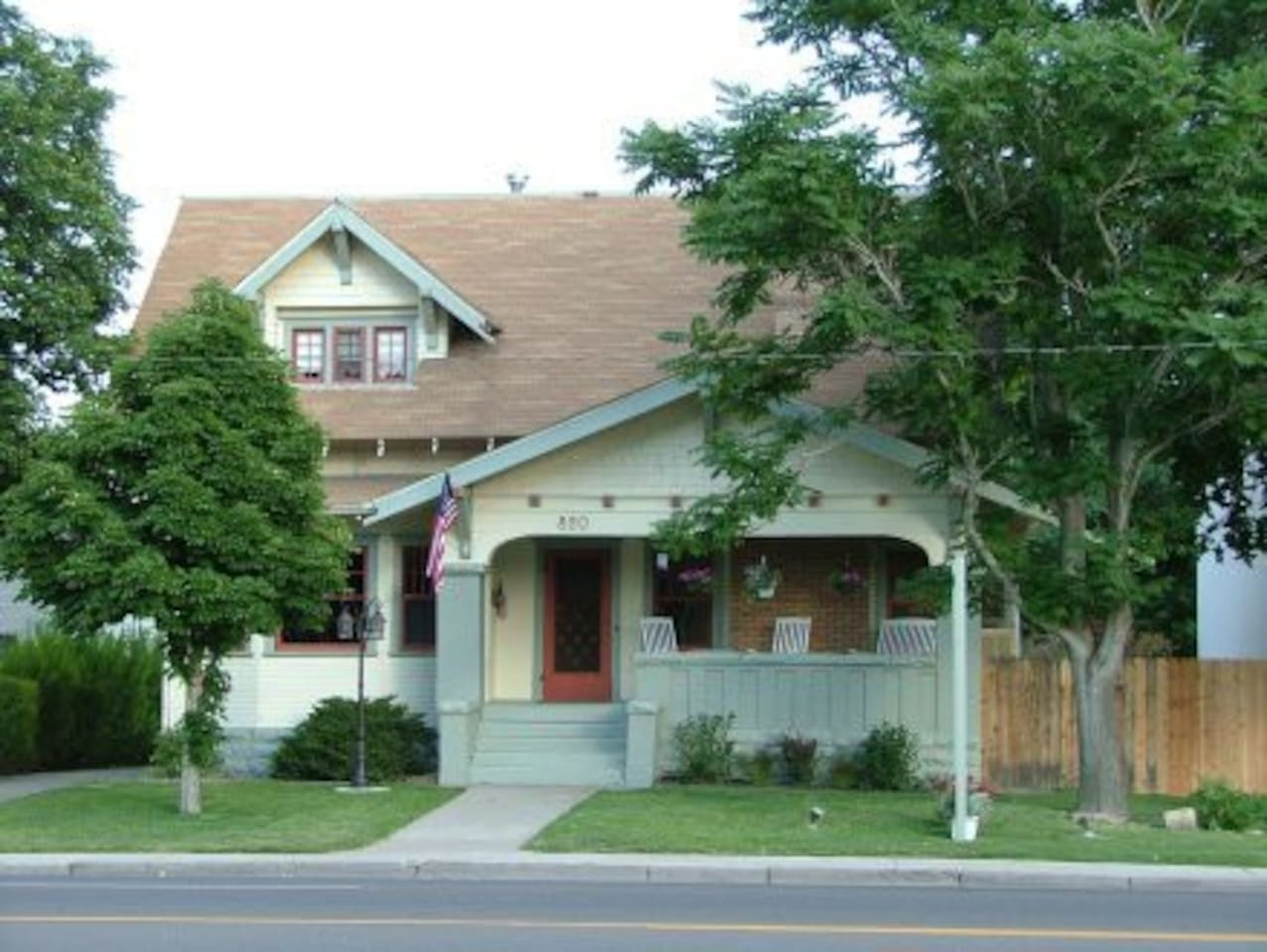 The front of the Bed & Breakfast