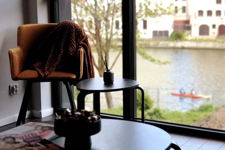 Apartament Nadrzeczny *Rezydencja Wintera* CENTRUM