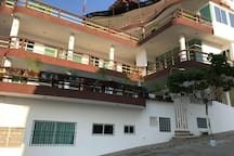 Vista exterior Hotel