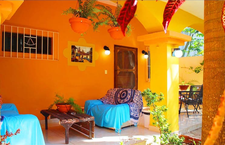 Mexican style beauty in downtown with all comforts - Cozumel - Huis