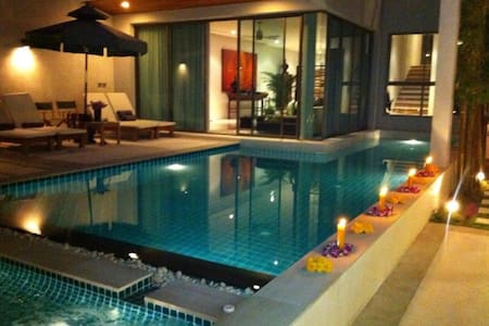 Great private 3 storey sea-view villa in Phuket - Раваи - Дом