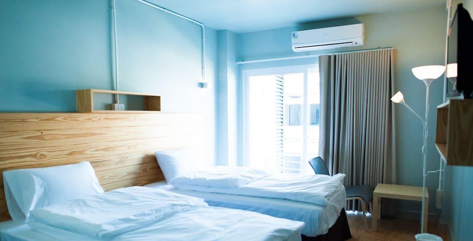 Comfy accom. 4 (BTS Saphan khwai) - Bangkok - Apartment