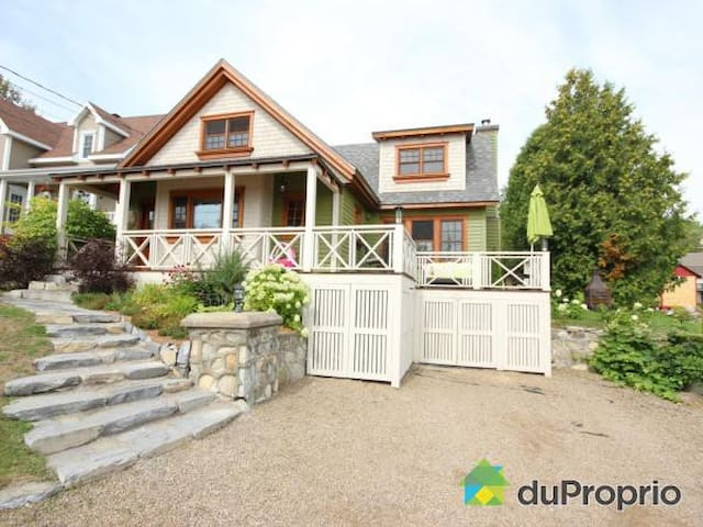 La Champêtre - Spa et foyer - La Malbaie - Xalet