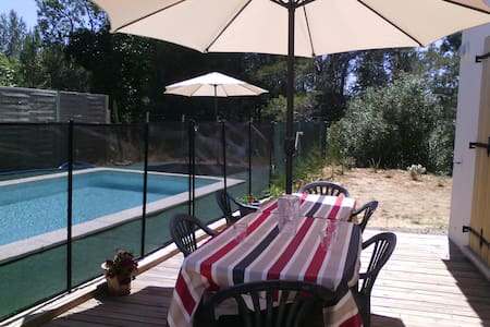 Villa avec piscine privative max 6 - Saint-Laurent-de-la-Cabrerisse - Villa