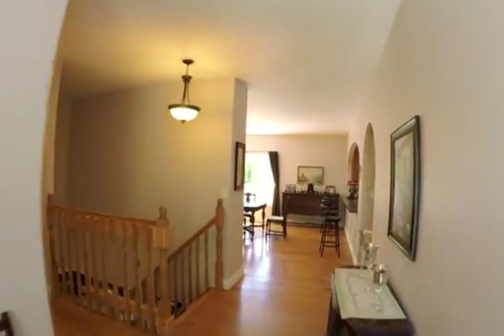 Hallway - Main Level