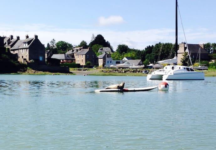 Jolie Maison bretonne Port guildo pres Dinard