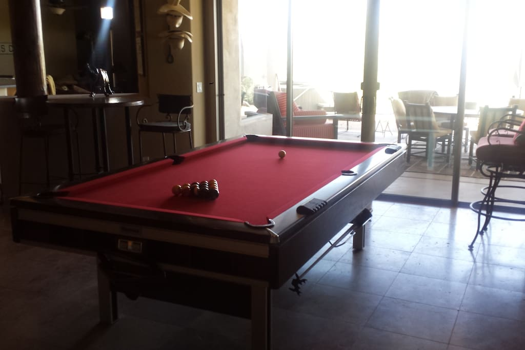 Great Room Pool table