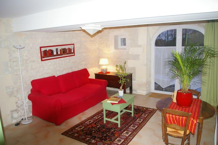 Studio avec charme - Dompierre-sur-Charente - Huoneisto