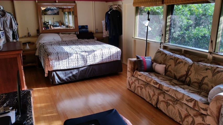 Furnished Private Studio 1800/month - 卡拉黑奧(Kalaheo) - 小木屋