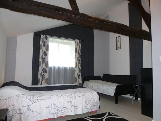 chambre d'hôtes  2-5 pers. en logement indépendant - Les Cerqueux-Sous-Passavant - Penzion (B&B)