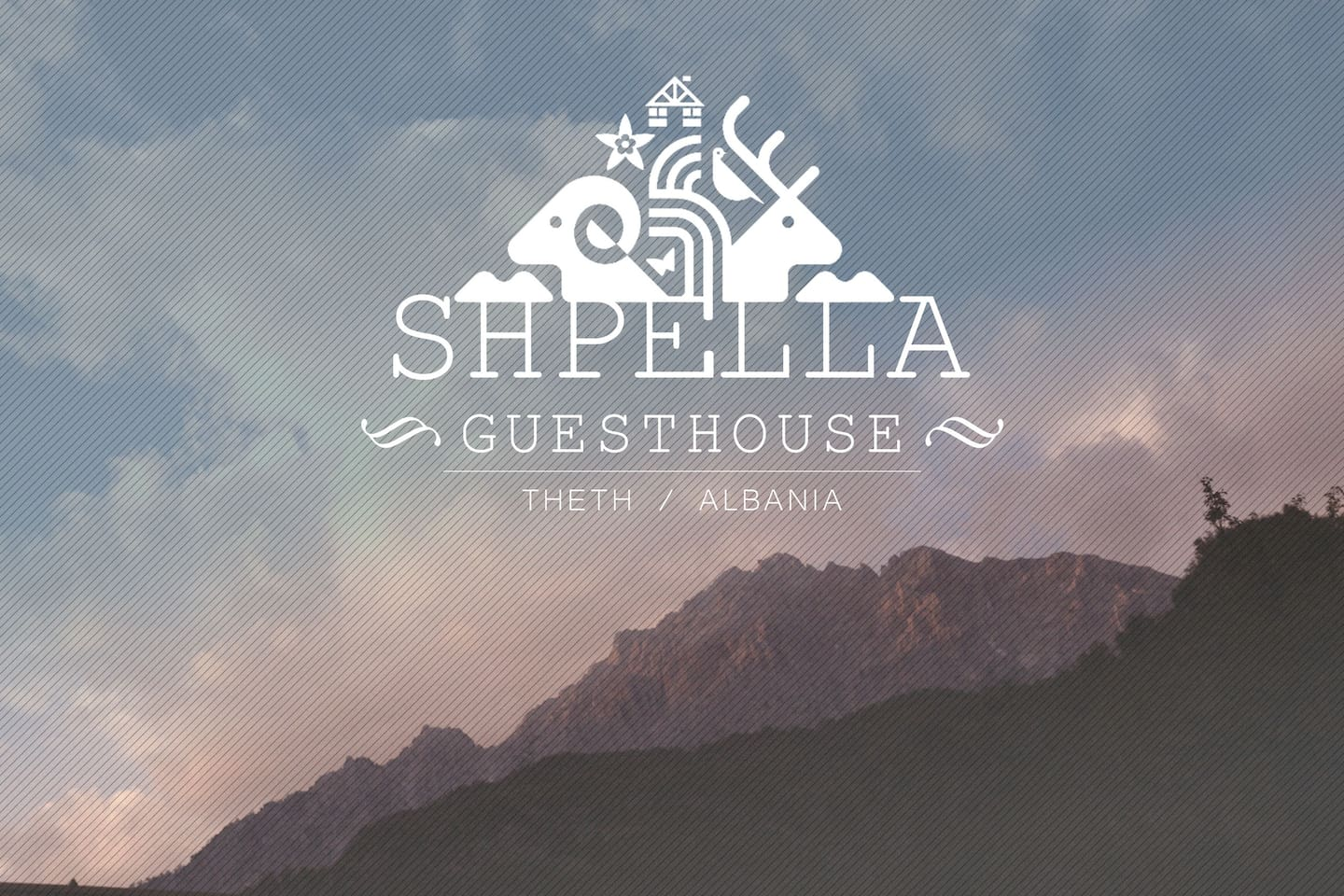 Theth Shpella Guesthouse Albania Mountain Alps Beautiful Traditional