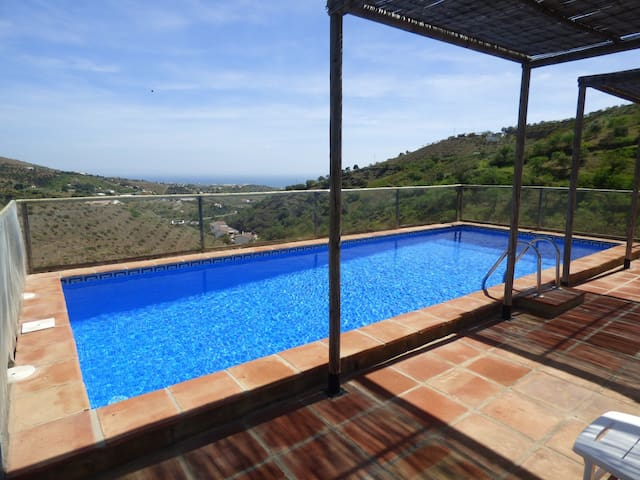 PRIVATE HEATED POOL SEA VIEW WIFI - Torre del Mar, Cajiz - House