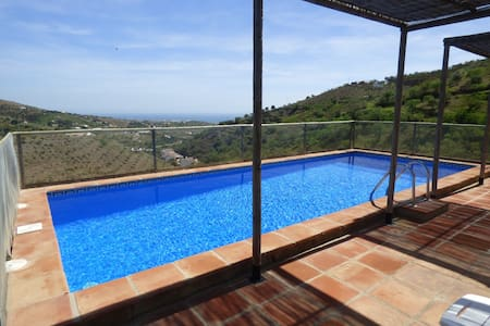 PRIVATE HEATED POOL SEA VIEW WIFI - Torre del Mar, Cajiz - Ev