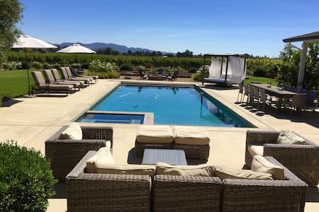 Napa Valley Modern Ranch House! - Napa