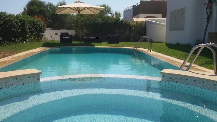 Etage Villa La Romance Avec piscine et Vue Mer