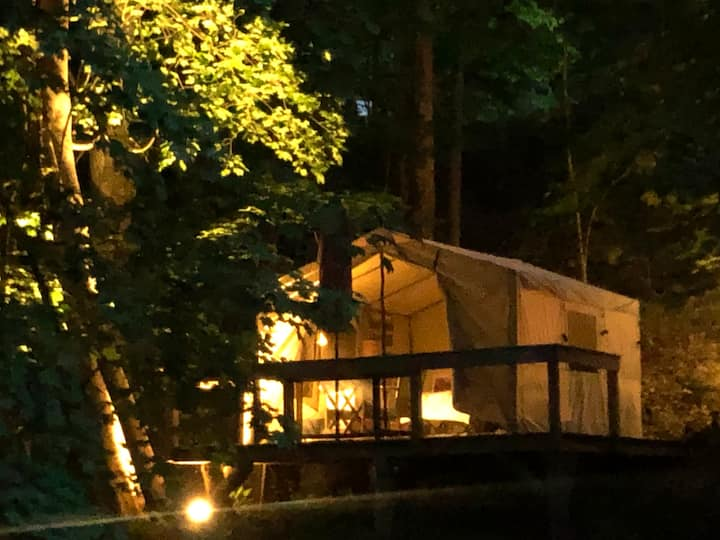 Chester Cottage Canvas Tent Cabin