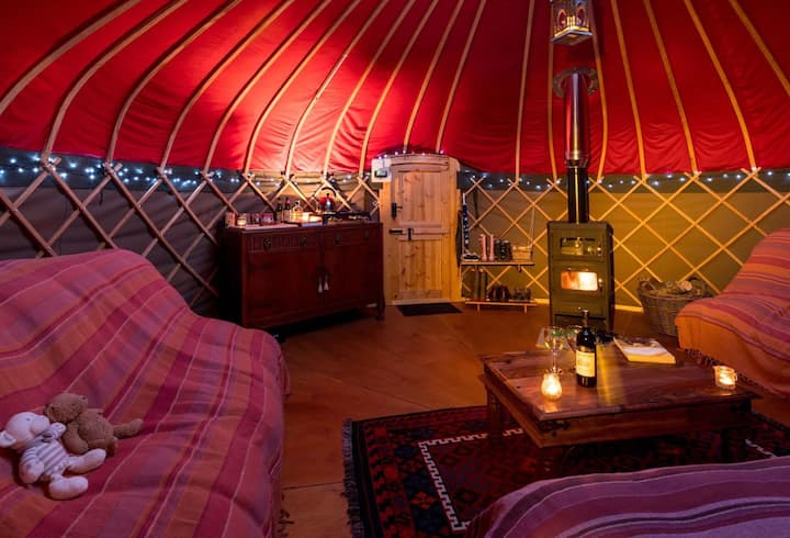 Long Valley Yurts - Coniston
