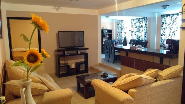 Apartamento con servicios en Teotihuacán