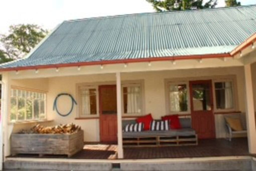 Two bedrooms with shared bathroom facilities