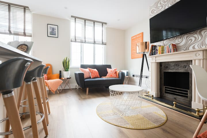 Modern One Bed - Minutes from Oxford Street