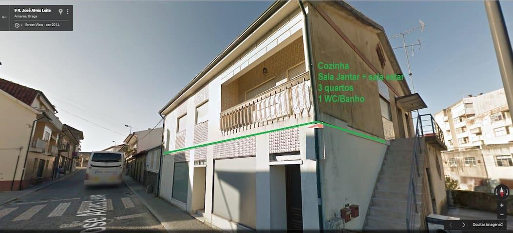 Amares - t3 (URL HIDDEN) de Verão ou Inverno - Amares - Appartement