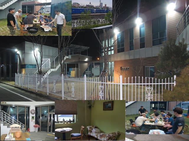 군산 서천 호스텔&펜션 4인온돌(욕실)