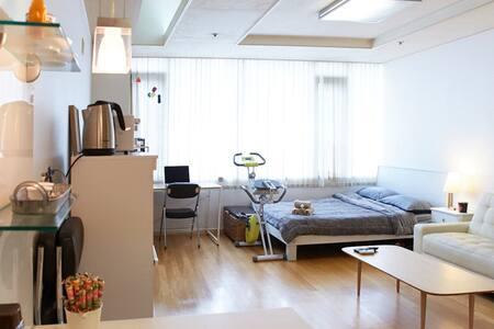 Spacious Studio / 2mins to metro/ Central Location - Guro-gu - Apartamento