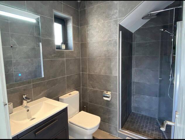 Beautiful en-suite with walk in shower