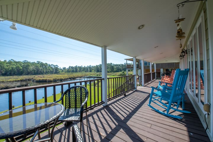 Stay at our waterfront home for a REEL GOOD TIME!!