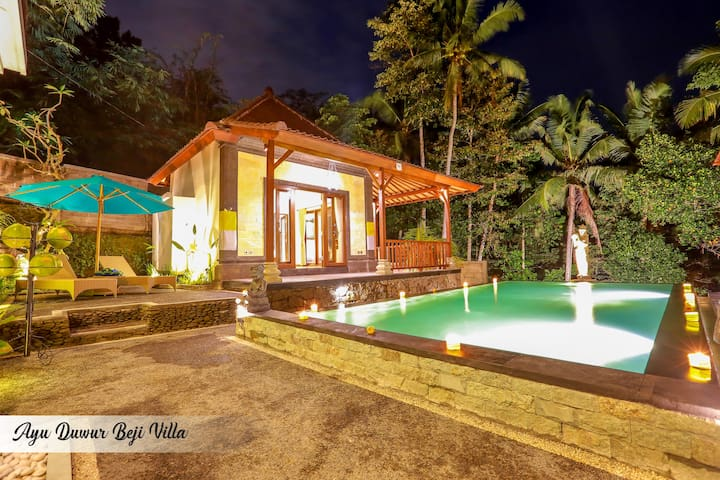 1BR Bungalow with Pool View - Tegallalang - Bungalow