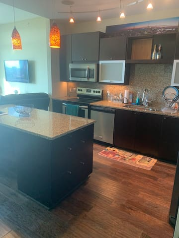 Nice one bedroom apartment in uptown Dallas Texas.