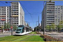 arrêt tram Esplande