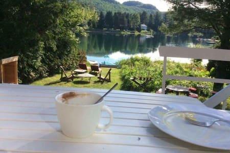 Très beau chalet au bord du lac - Val-David - Hus