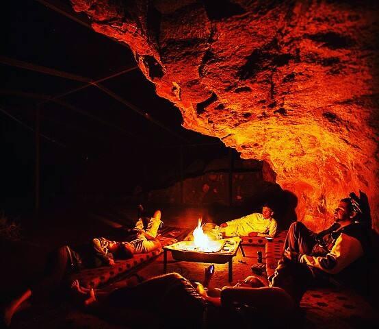 Yalla sleep in nature caves