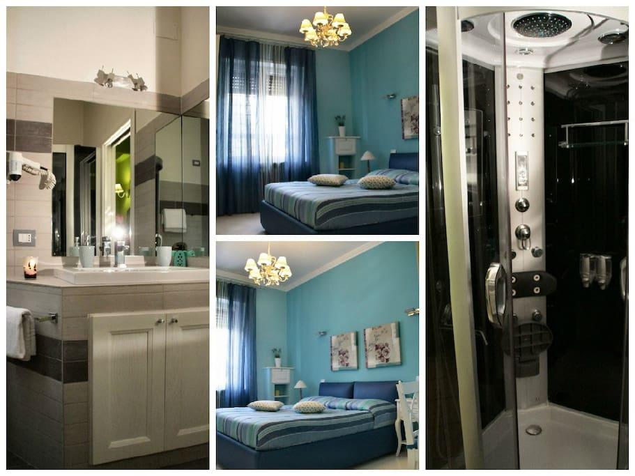Camera doppia con bagno privato pernottamento e colazione in affitto a roma lazio italia - Ostelli londra con bagno privato ...