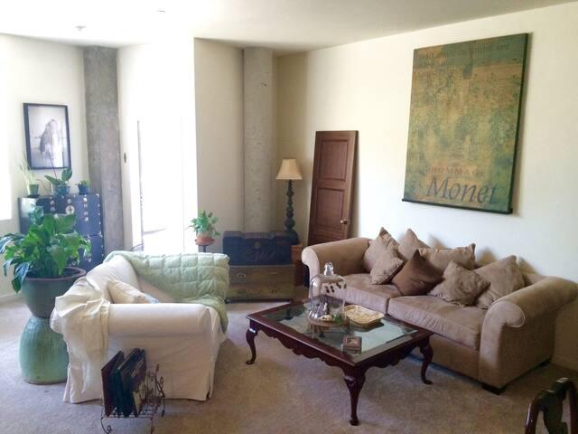 Spacious Bohemian Abode - Emeryville - Apartment