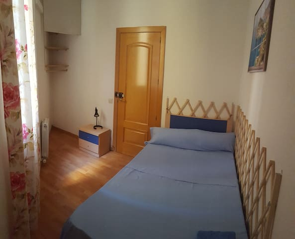 3. Room in the city center near Sagrada Familia.